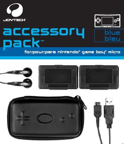 5-teilig. Zubehör Set für GameBoy Micro Modell BLUE