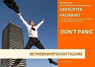 BASISWISSEN - GEPRÜFTER FACHWIRT - WBQ - BETRIEBSWIRTSCHAFTSLEHRE