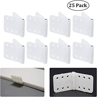 Pinned Nylon Hinges W0.47 Inch and L1.0 Inch RC Airplane Plane Model Aircraft Parts