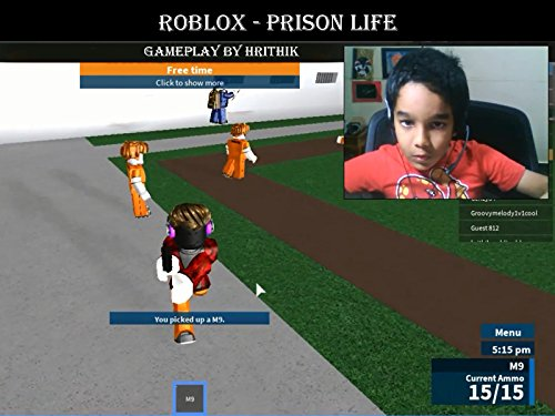 Clip: Roblox - Prison Life gameplay by Hrithik