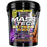 MuscleTech Mass Tech Extreme Mass Gainer Whey Protein...
