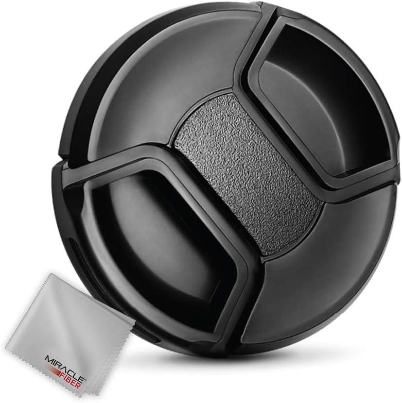 service Zeikos ZE-LC58 58mm Plastic Snap Manufacturer direct delivery Cap On Black Lens