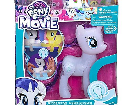 My little Pony Hasbro leuchtende Freunde Rarity Spielfigur Sammeln Spielfigur
