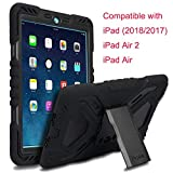 Meiya iPad 9.7 inch 2017 2018 Coque, New Robuste Rsistant aux Chocs salet Neige Sable Proof Survivor Extreme Heavy Duty...