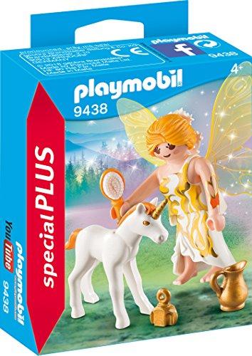 PLAYMOBIL- Hada del Sol con Unicornio Juguete, Multicolor (geobra Brandstätter 9438)