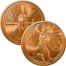 Jig Pro Shop Warrior Series 1 oz .999 Pure Copper Round/Challenge Coin
