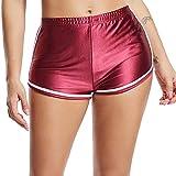 FITTOO Short de Sport Casual Femme Yoga Legging Court Décontracté Pyjama Pour Fitness Jogging Course Gym Plage