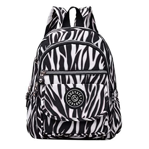 TUDUZ Damentasche Rucksack Studententasche Reisetasche Große Kapazität Mittlere Studententasche Mädchen(E)