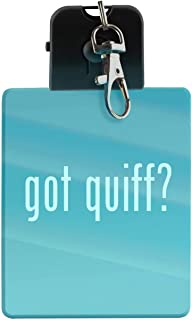 got quiff? - LED Key Chain with Easy Clasp