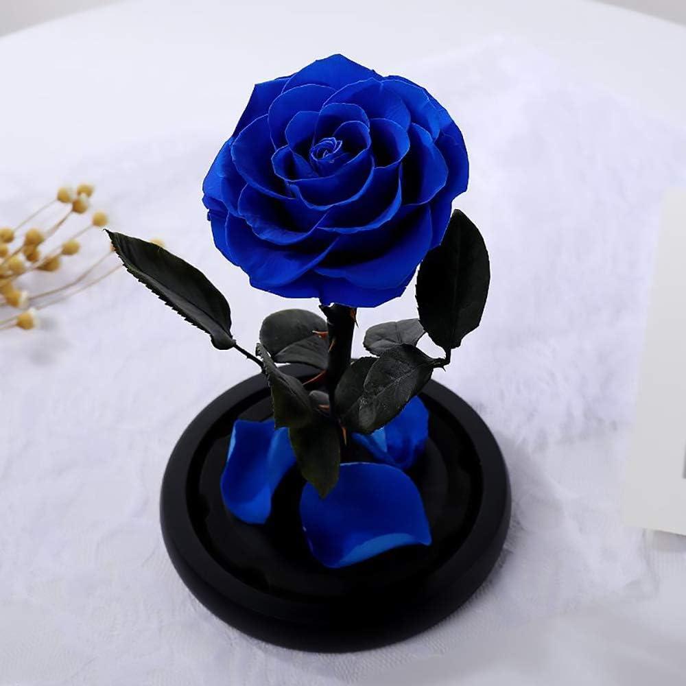 specialty shop Blue Rose Flower specialty shop Eternal Forever Preserved