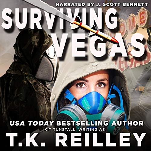 Surviving Vegas Audiobook By T.K. Reilley,                                                                                        Kit Tunstall cover art