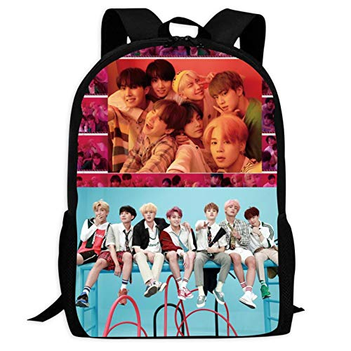 Boy Group B-TS 16 Backpacks Laptop Bag 3D Printing Kids' School Casual Shoulder Bookbags Daybag for Boys Girls