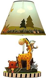 Dimmable Animal Table Lampe Jolie Chambre Chambre à coucher Chambre à coucher Lampe de chevet Girafe Tiger Sonkey Shape Bo...