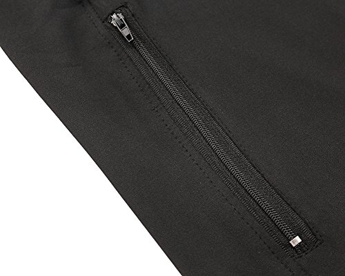 Jessie Kidden Men's Quick-Dry Gym Workout Hoodie Jacket Sports Running Sweatshirt #9003
