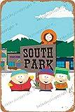 Cimily South Park Poster Zinn Retro Zeichen Vintage Poster