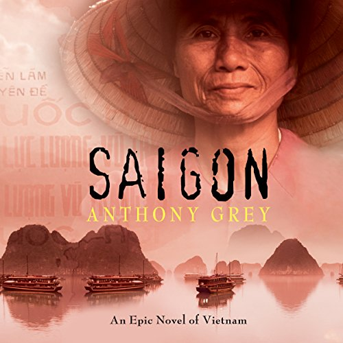 Saigon audiobook cover art