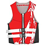 Airhead Adult Swoosh Kwik-Dry Neolite Flex Life Vest, Red, Large (10076-10-B-RD)