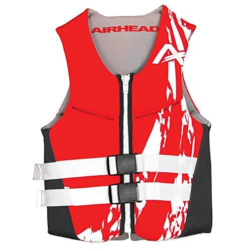 Airhead Adult Swoosh Kwik-Dry Neolite Flex Life Vest, Red, XXX-Large (10076-13-B-RD)