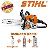 Stihl MS 181 Mini Boss chainsaw Negro, Gris, Naranja - Sierra eléctrica (35 cm, 0,27 L, 76,2/8 mm (3/8'), Negro, Gris, Naranja, 100 dB, 0,265 L)