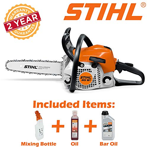 Stihl MS181 14-Inch Petrol Chainsaw review