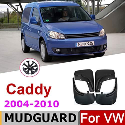 mlzaq Auto-Schlammklappen für VW Volkswagen Caddy 2010-2004 Vordere Heckmudflaps Splash Guards Mordguards Fender...