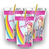 12 Personalized Jojo Siwa Party Juice Pouch Label | Jojo Siwa Party | Birthday Supplies | Jojo Siwa Caprisun Label | Capri Sun Template | Jojo Siwa Party Favors | Jojo Siwa Birthday Favors