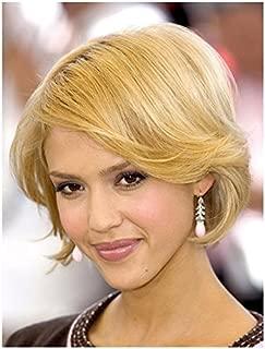 Jessica Alba 8 x 10 Photo Headshot Short Blonde Hair Sweet Smile--No Teeth Showing kn