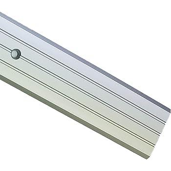 2m Flat Carpet Cover Door Strip Aluminium Rail Drilled Fluted Floor 40mm Lpps 40 Tmw Profiles Silver Amazon Co Uk Diy Tools