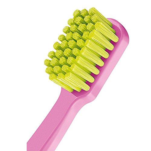 Curaprox Ultra Soft 5460 Ultra-Weiche Zahnbürste, 4 Stück. Weicheres Gefühl & bessere Säuberung Fantastische Lebendige Farben
