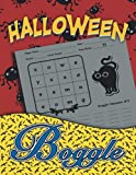 Halloween Boggle: Halloween Word Search Puzzle Book for Adult with Solutions for Adults