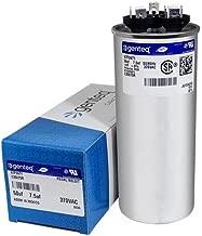 Genteq - 50 + 7.5 uF MFD x 370 VAC GE Industrial Replacement Dual Capacitor Round # C35075R / 97F9971