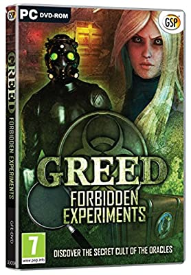 Greed: Forbidden Experiments (PC DVD)