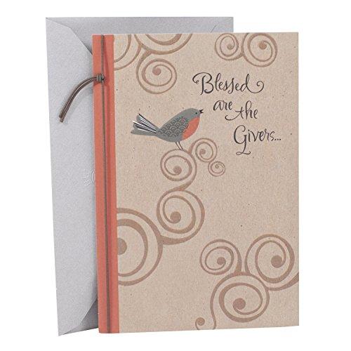 Hallmark Mahogany Religious Thank You Greeting Card (Bird)