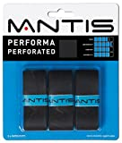 Mantis Performa Perforated Overgrip (3 pack), Color- Black