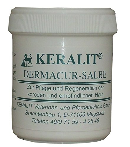 Keralit Dermacur Salbe 130 ml bei Mauke Ekzemen, spröder gereizter Haut sorgt für geschmeidige elastisch Haut