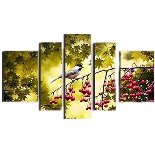 JunBo Combinaison de Peinture à l'Huile décoratives Suspendus Peinture Salut sur Les Branches Suspendus Peinture