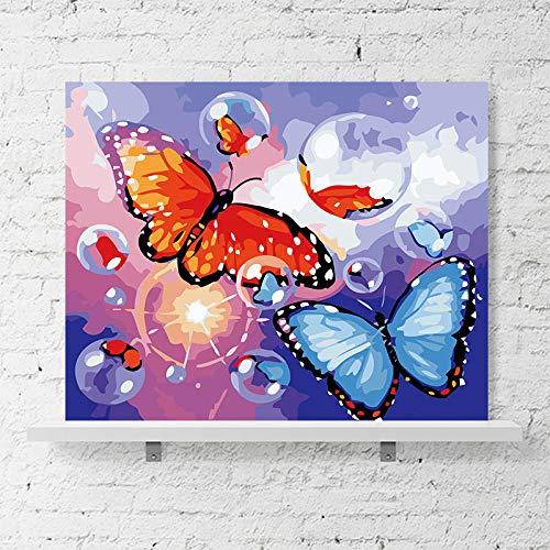 SiJOO modelnummer Fai-da-Te van de koffie soort vlinder uit de Farfalla blauw rood Sogno Variopinto uit de kunst van de Domester Decoratie