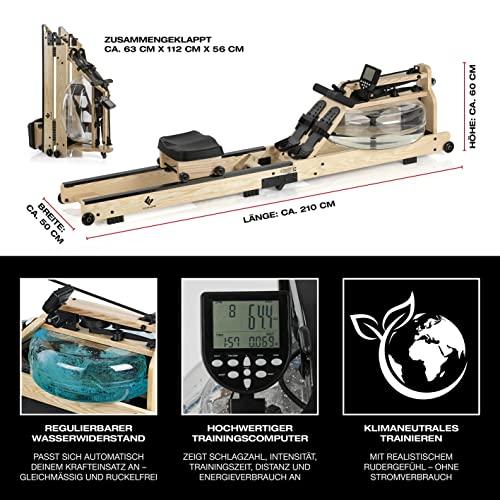 FitEngine Wasser-Rudergerät klappbar - 3