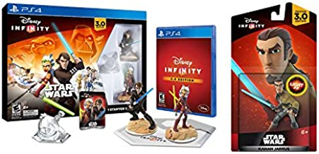 Disney Infinity 3.0 Edition Starter Pack Bundle - Amazon Exclusive - Playstation 4