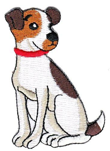 Hund Aufnäher Bügelbild