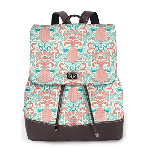 Womens Travel Backpack Ambrosia Genuine Leather Bags Purse