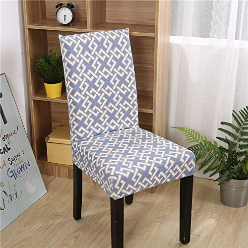 huobeibei Four-piece chair cover, elastic chair cover, Chinese classic one-piece cushion, stool cover, dust cover, general fun space