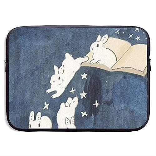 Funda portátil Rabbit Book Bolso Neopreno portátil