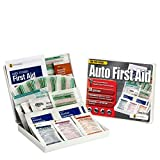 Consumer Auto Kit, 28 Piece, Plastic Case - Vehicle First Aid Kit Emergency Supplies Travel First Aid Kits