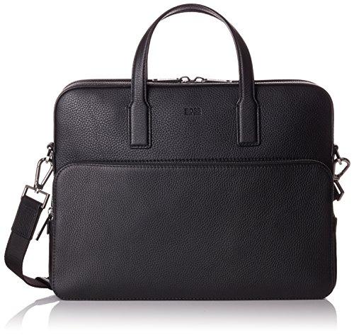 BOSS herr Crosstown_s Doc Case Laptop väska, 8,5 x 30 x 38 cm, svart (svart)