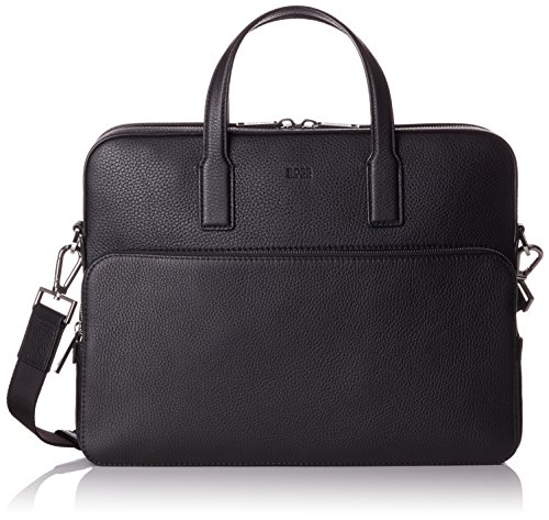 BOSS Heren Crosstown_s Doc Case laptop tas, 8,5 x 30 x 38 cm, zwart (zwart)