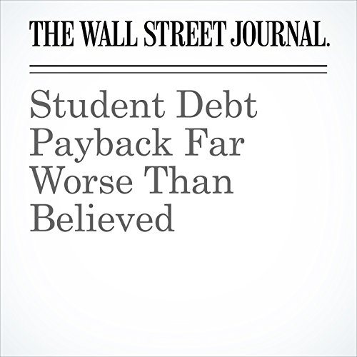 Student Debt Payback Far Worse Than Believed copertina