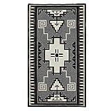 Pendleton Wool Saddle Blanket, Naskan Black/Ivory, One Size