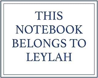 This Notebook Belongs to Leylah