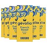 Gevalia French Roast Dark Roast Ground Coffee (12 oz Bag, Pack of 6)
